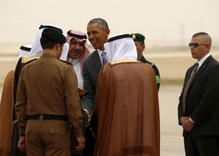 Obama in Riyadh amid Increasing US-Saudi Tensions