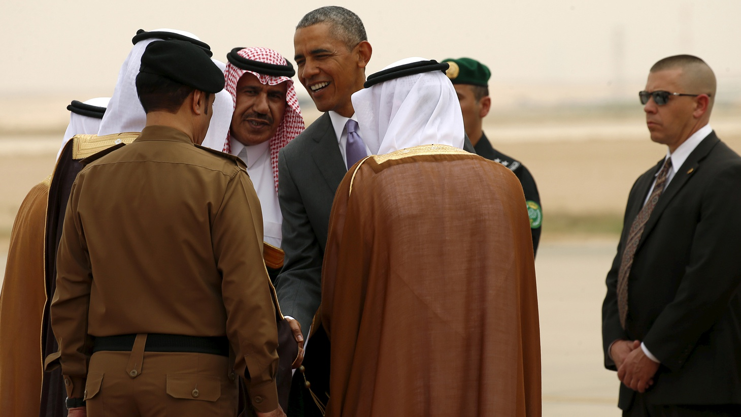"""President Obama is in Saudi Arabia today at a tense moment in USSaudi relations. The long-standing alliance is based on oil and security concerns, but now is being frayed by diverging goals in Middle East conflicts, by Obama's recent reference to the Saudis as """"free riders"""" and renewed calls from Congress to allow Americans sue them for 9/11."""