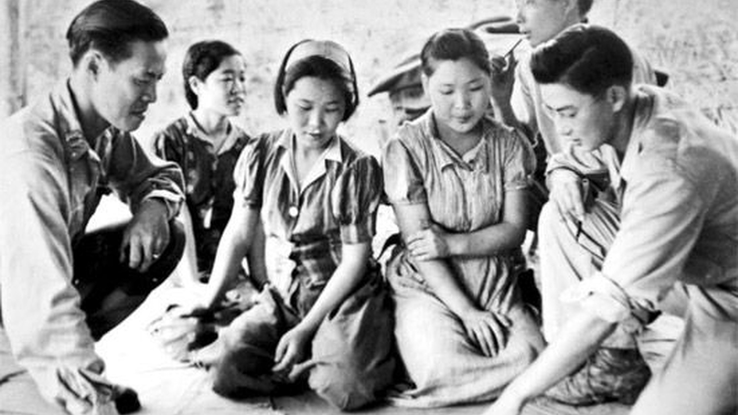 After seventy years, there is finally an apology and a settlement for the women forced to work in brothels for the Japanese Imperial Army during WW II.