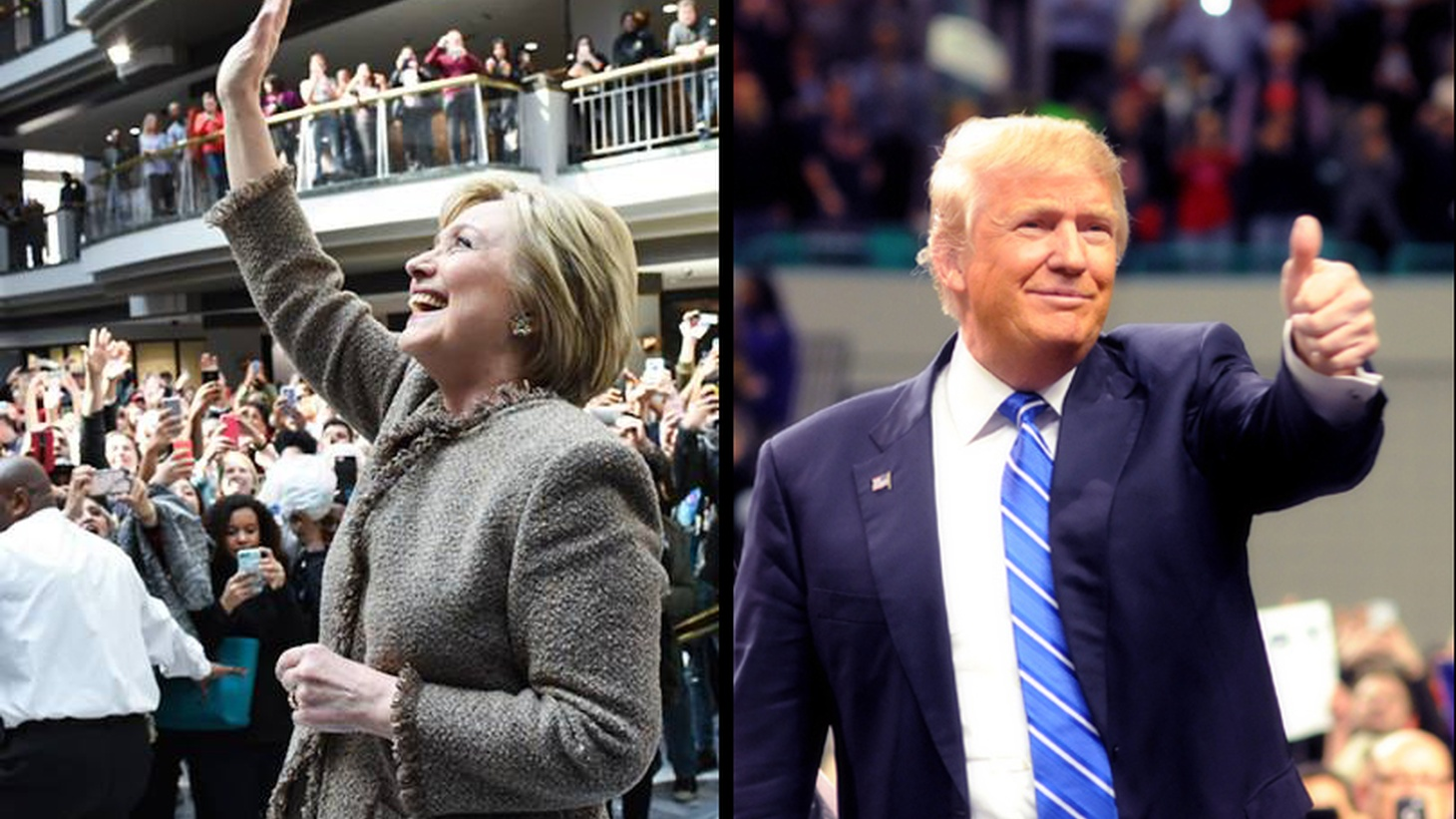 Hillary Clinton and Donald Trump were the big winners in yesterday's voting, but there's a long way to go — and both parties are heading for uncharted territory.We update the latest political traffic on the road to the White House.