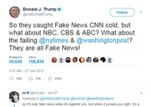Who's lying? The battle over 'fake news'
