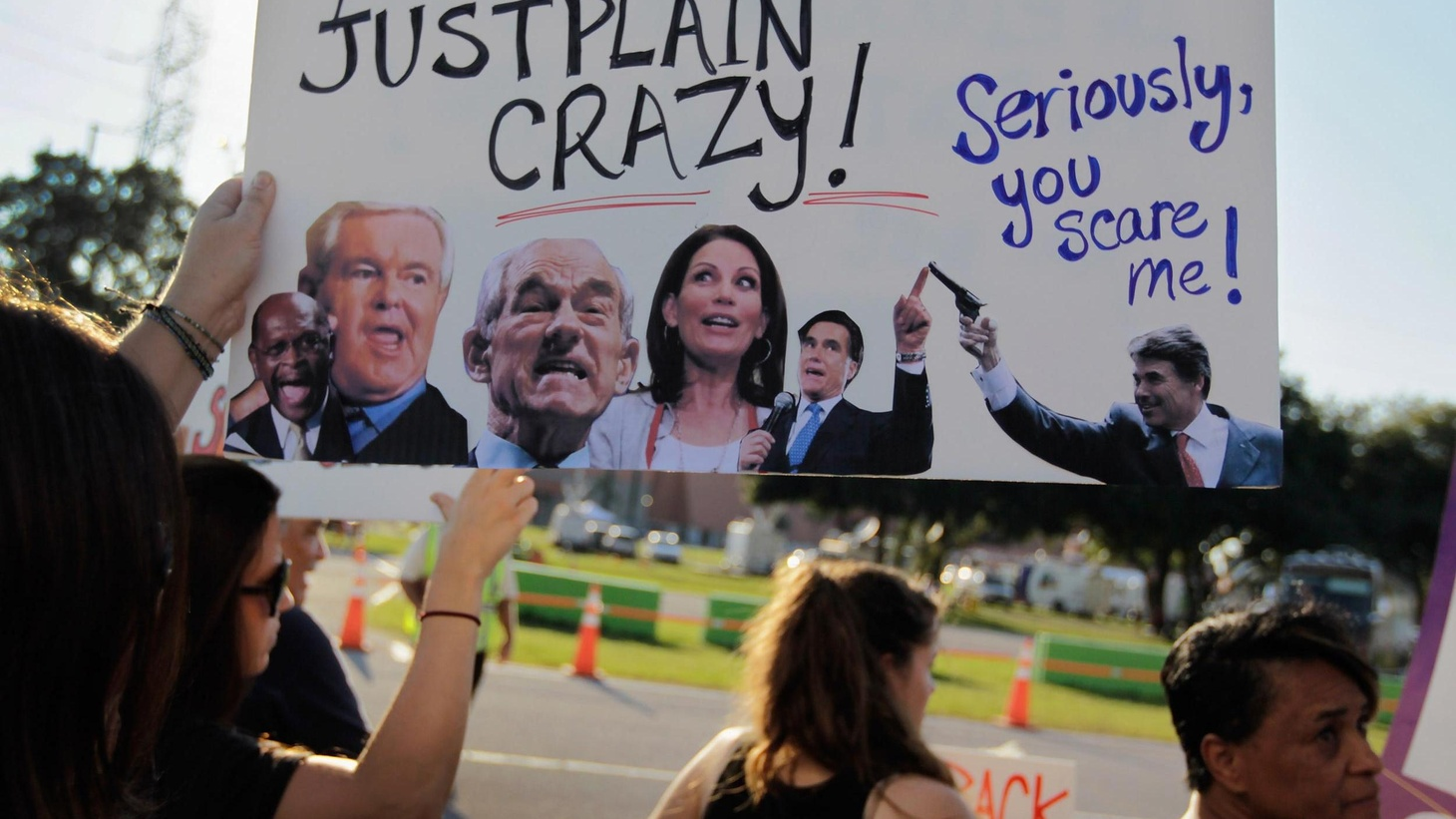 GOP presidential candidates faced a Tea Party crowd last night. We hear what they said and ask about Tea Party influence in deciding the nominee of a divided Republican Party.