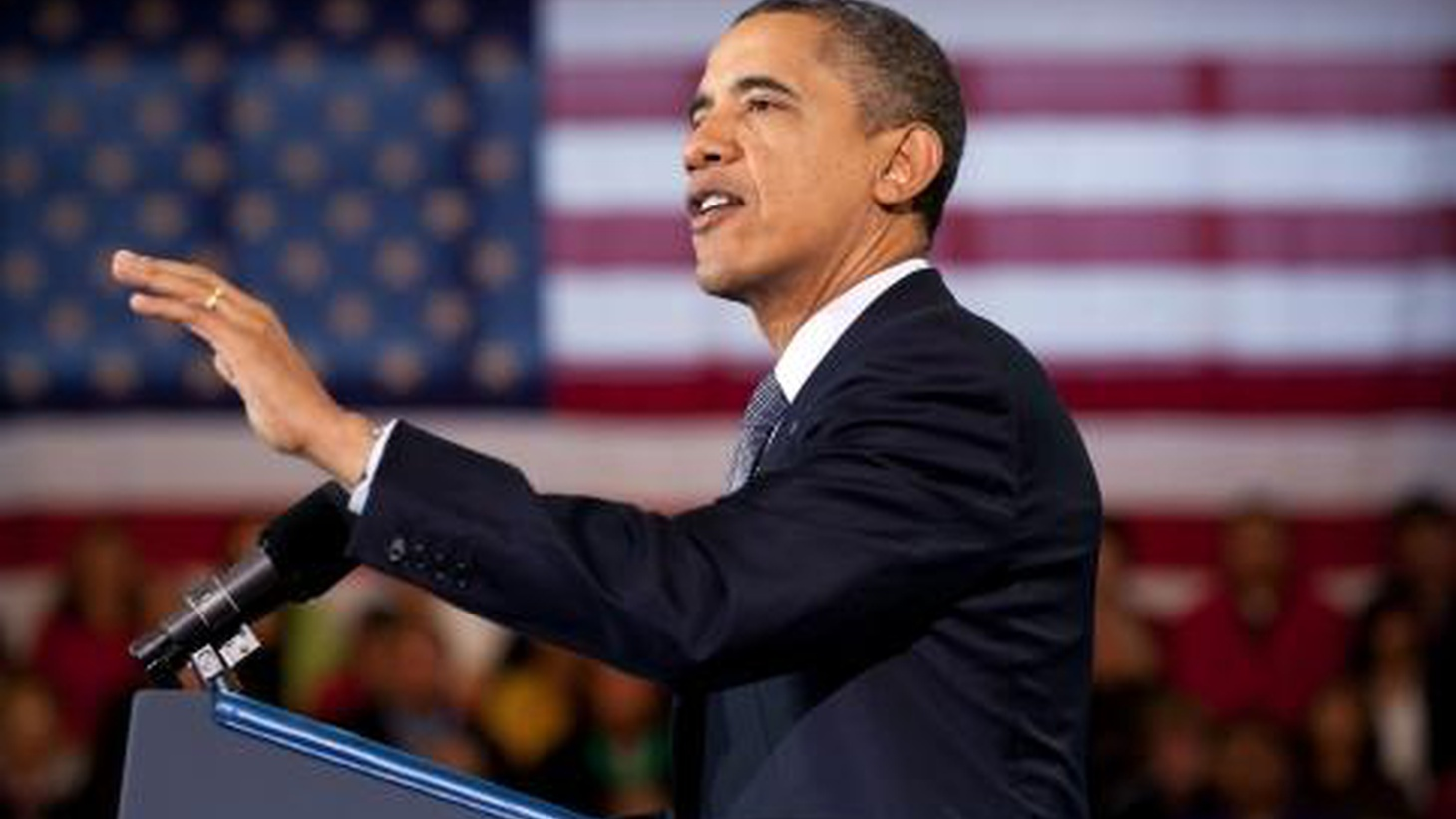Progressive Democrats are applauding the campaign themes laid out by President Obama this week. How does he sound to liberals? Republicans? Centrists who decide elections?