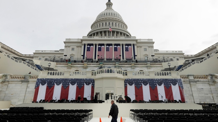 """Guest host Barbara Bogaev runs down who's opting out of Donald Trump's inauguration, looks into the charge that he is not a """"legitimate President"""", and considers how his unusually low…"""