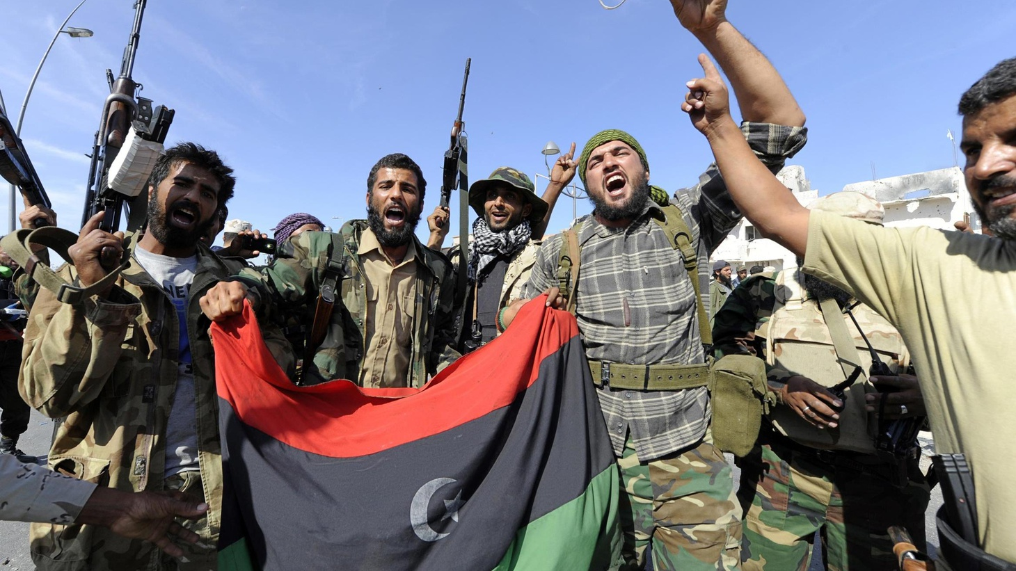 Libyans danced in the streets today, celebrating the death of a tyrant brought down by his own people with help from the US and NATO....