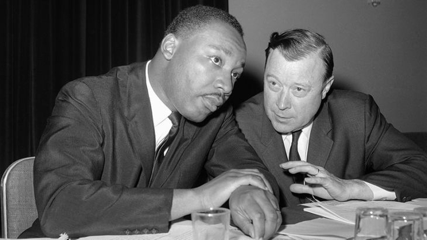 Dr. M.L. King, Jr and Walter Reuther