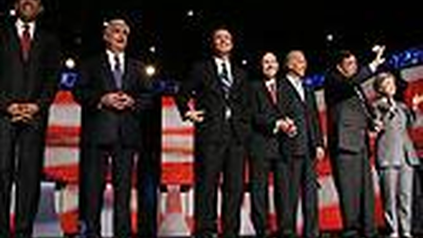 South Carolina's a red state, but the eight Democratic candidates for president got together there last night to debate on Iraq, healthcare and other issues. We get assessments from across the spectrum of party opinion. Also, Saudi Arabia arrests nearly 200 alleged Islamic militants, and CIA Director George Tenet's new book.