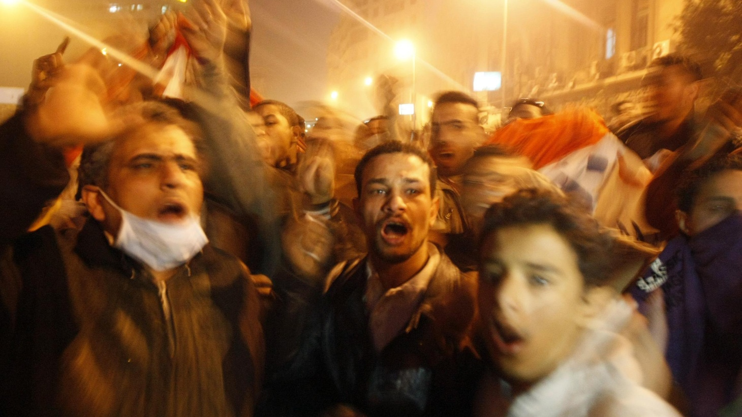 As soldiers took over for riot police, tanks rolled through the streets of Cairo and Alexandria tonight. Tens of thousands of protesters were demanding the removal of Egypt's President Hosni Mubarak. Also, NASA 25 years after the Challenger disaster.