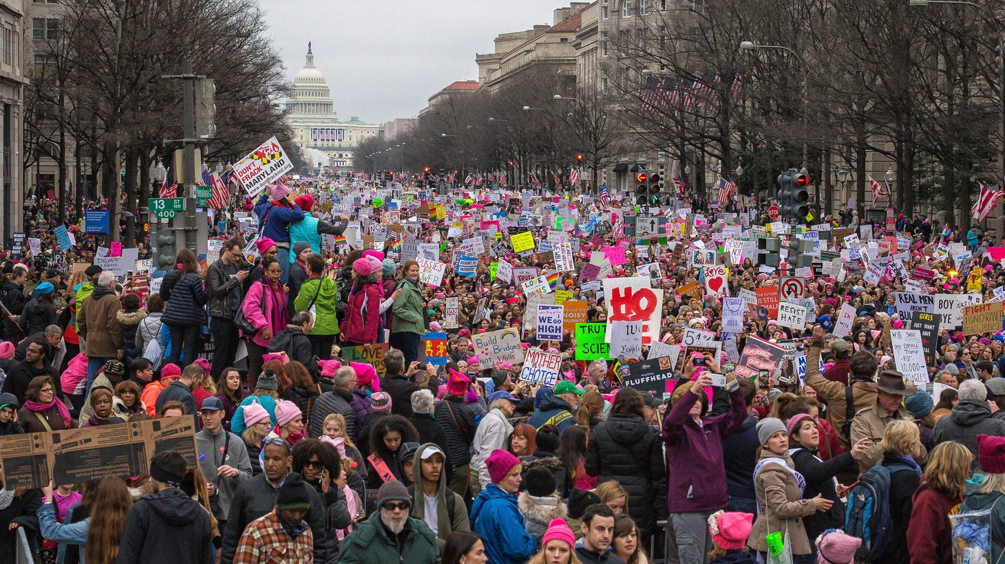 The Trump White House may disagree, but Saturday's turnout of protesters all over the country dwarfed the crowds who showed up for Friday's inauguration. Was it political theater… or the beginning of something new?