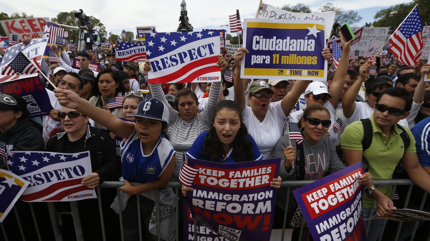 Immigration reform is back on the Capitol Mall today—but it might not reach the halls of Congress. What are the prospects for any legislation this year?