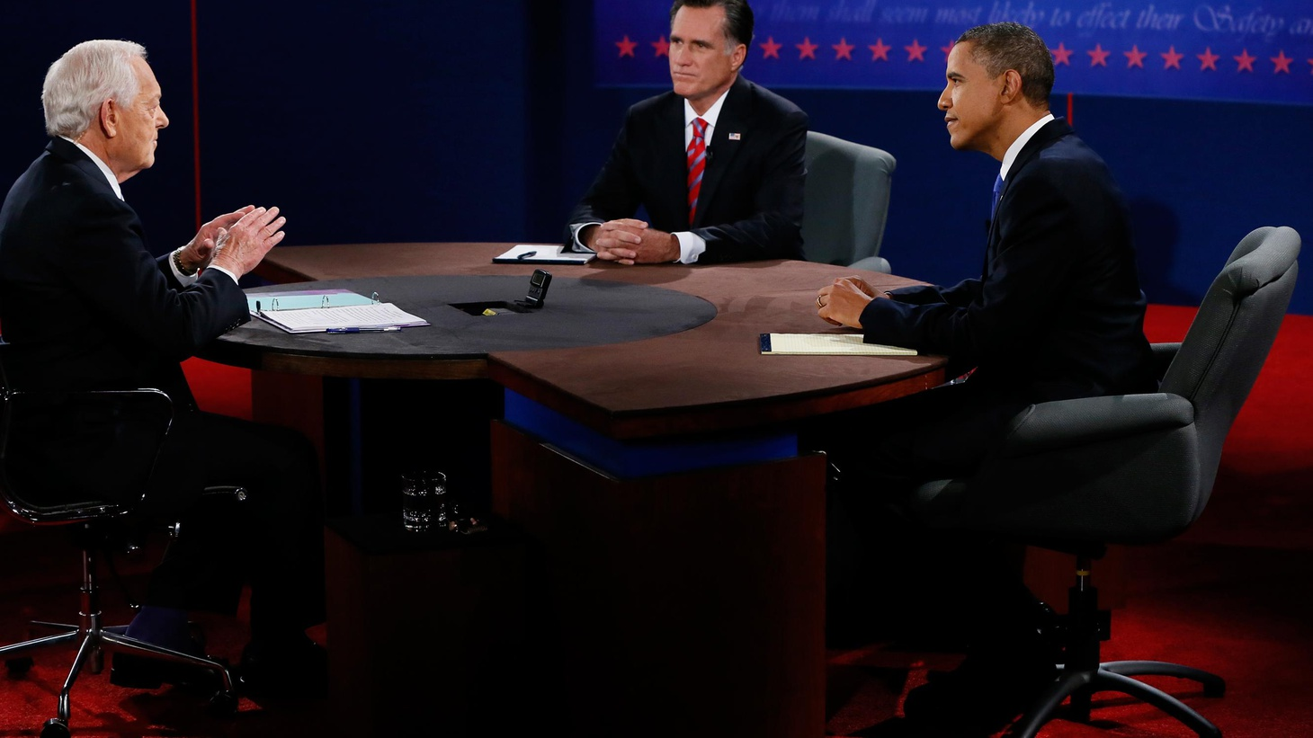 The debates are over and it's on to the swing states in a presidential campaign that's almost over. Is last night's debate on foreign policy likely to make a difference?