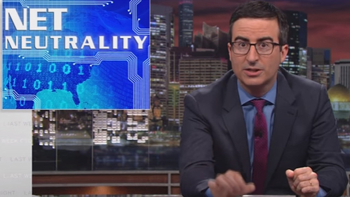 """Today a federal court upheld  so-called Open Internet rules, also called """"net neutrality."""" Two years ago, John Oliver of HBO's Last Week offered a clear explanation of what that means."""