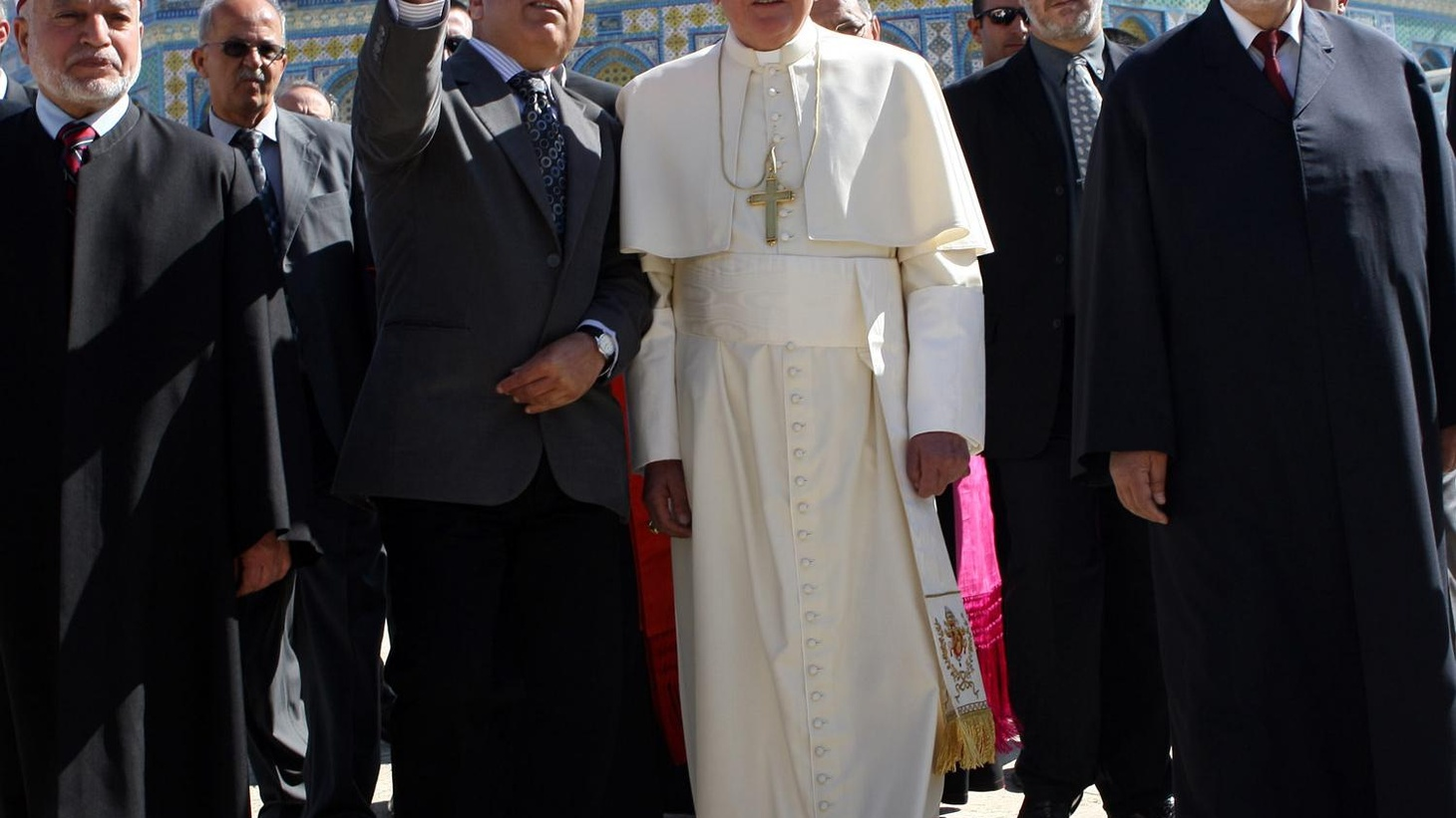 This week's pilgrimage to the Holy Land by Pope Benedict XVI has turned somewhat contentious. We hear the assessments of Jews, Palestinians and Roman Catholic Christians. Also, Richard Holbrooke testifies before Senate Foreign Relations Committee, and repairing the Hubble, a risky mission with an extraordinary goal.