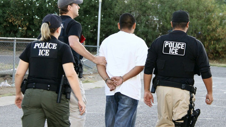 The US Supreme Court today considered the plight of thousands of immigrants — often here lawfully, but sometimes detained for years without hearings on whether they should be deported.