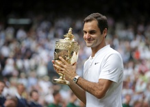 Roger Federer makes history with eight wins at Wimbledon