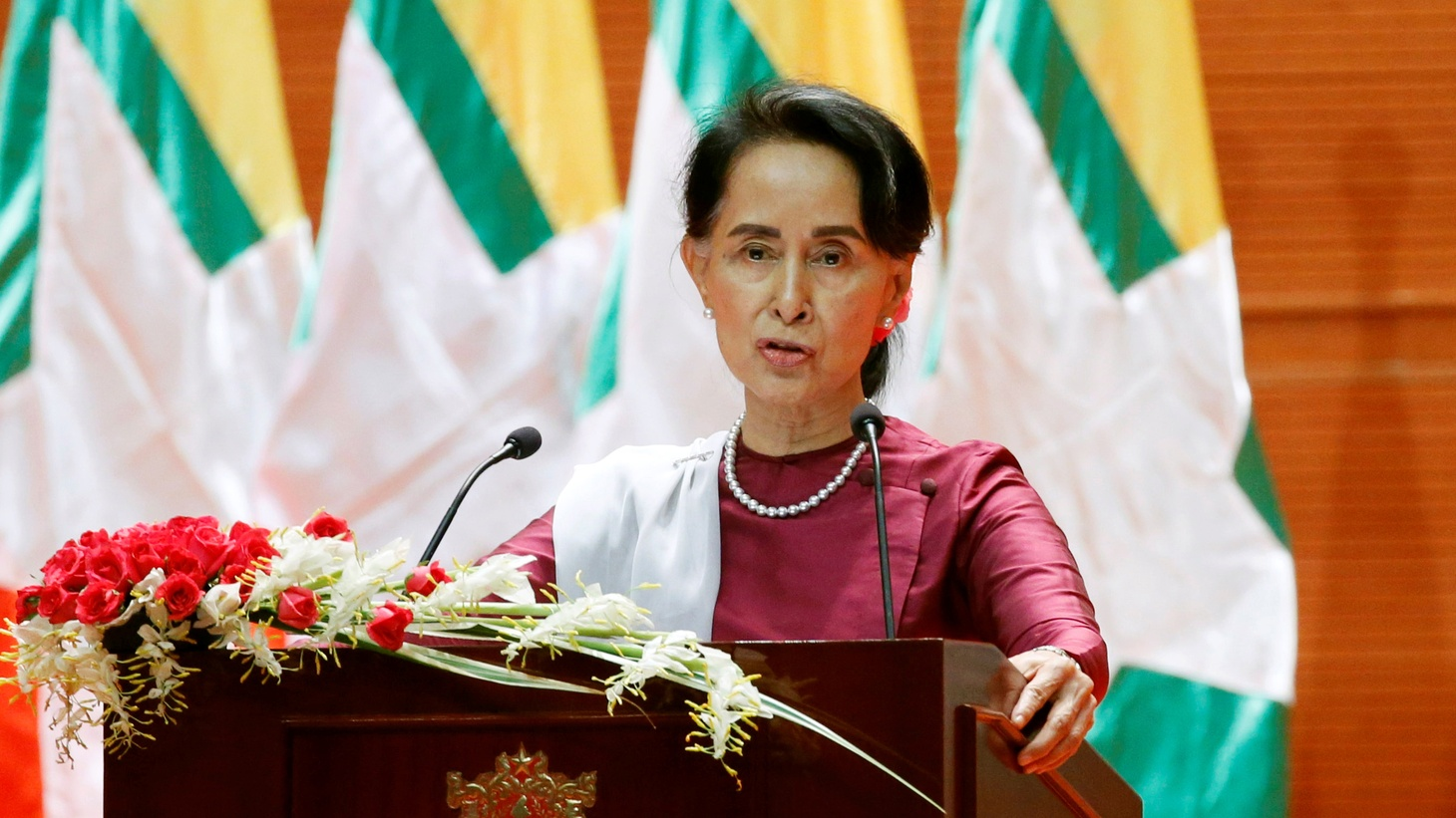 Former supporters of Aung San Suu Kyi, the elected leader of Myanmar, are demanding that she give up her Nobel Peace Prize. She's been silent about vicious atrocities committed by the military in her Buddhist-majority country. We get the background of a humanitarian crisis that's not as simple as it looks.