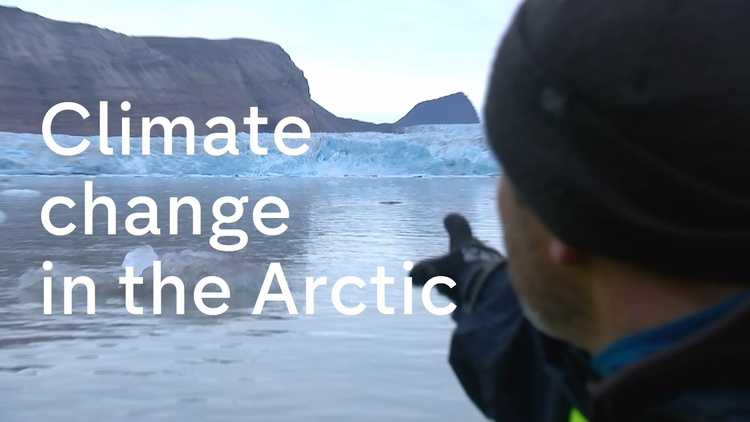 The 'Smoking Gun' of climate change in the Arctic