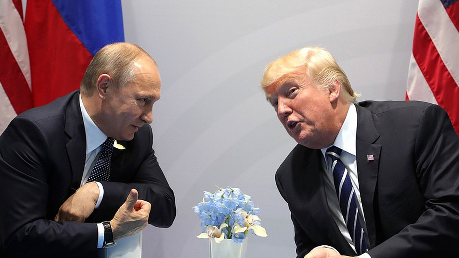 Overshadowing other news at the G-20 is the first meeting of Presidents Trump and Putin at the G-20 Summit in Hamburg Germany. The leaders met behind closed doors for two hours and 16 minutes -- more than twice what had been expected.