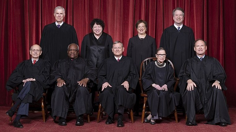 Supreme Court of the United States - Roberts Court 2018.