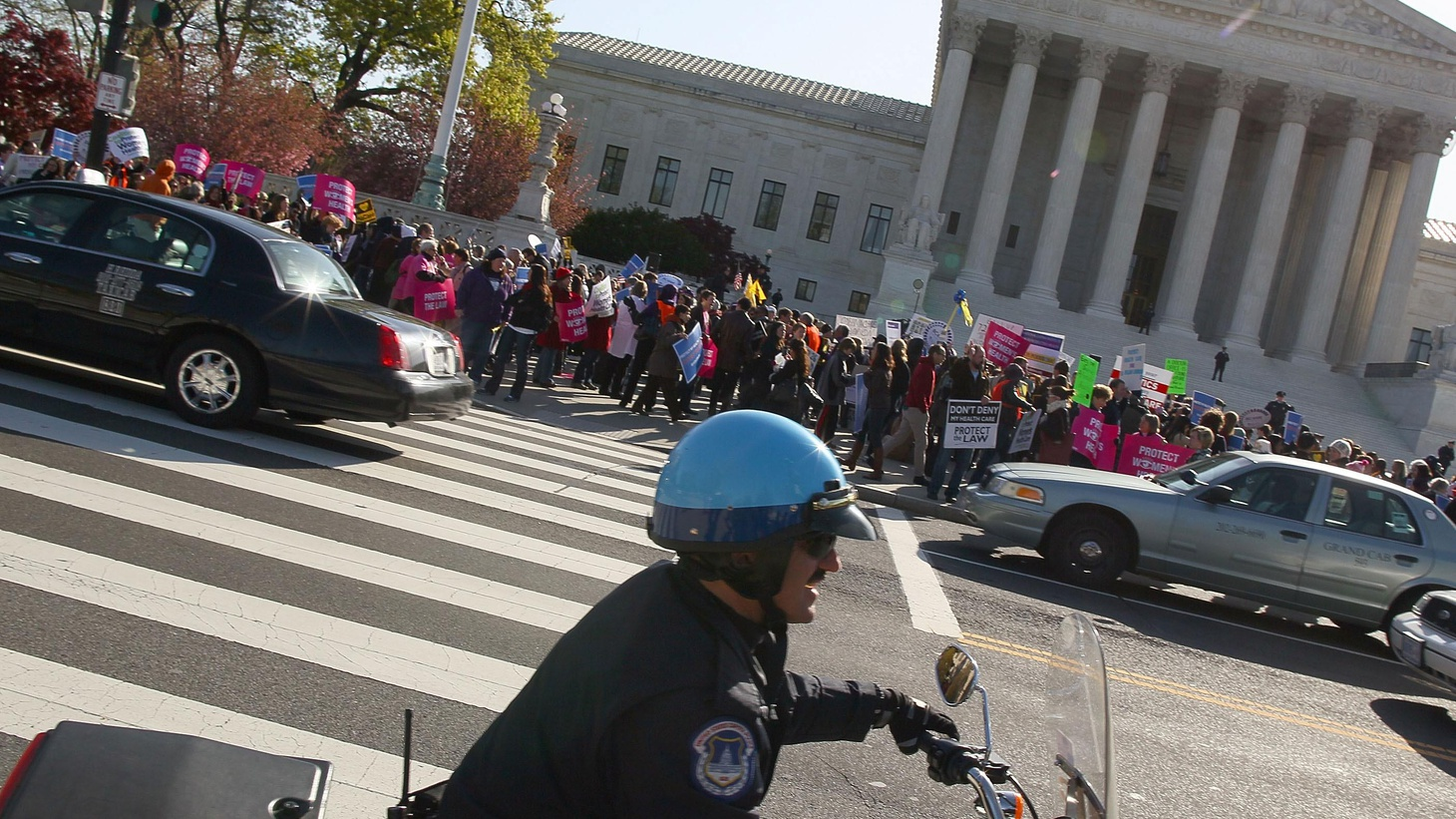 President Obama's Affordable Care Act got rough treatment today in the US Supreme Court. We hear what the justices wanted to know and what answers they got.