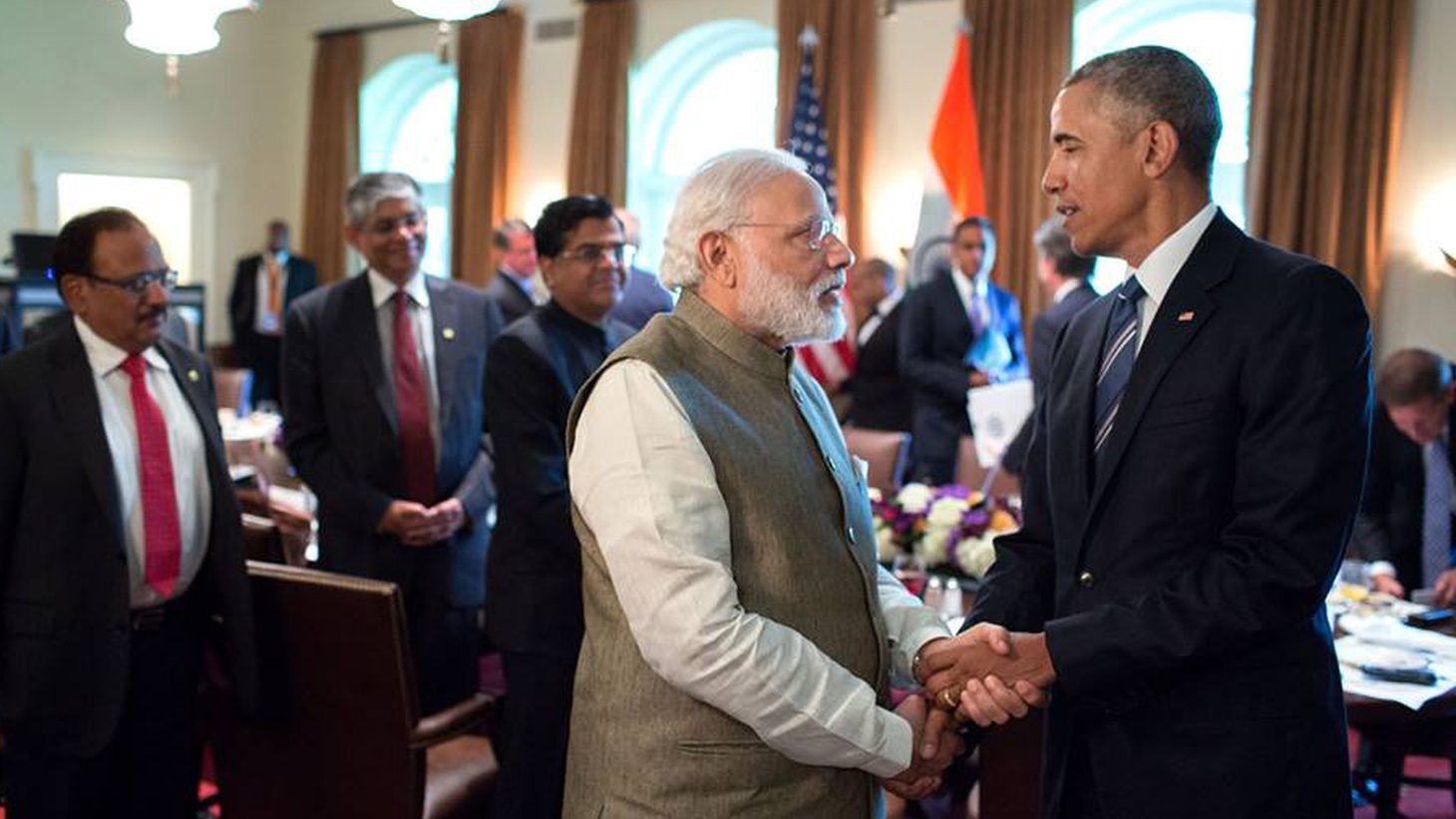 India's Prime Minister Narendra Modi is in Washington this week as US relations with the subcontinent are improving. We hear about the similarities between two democracies, their differences on human rights—and what each hopes to get from the other.