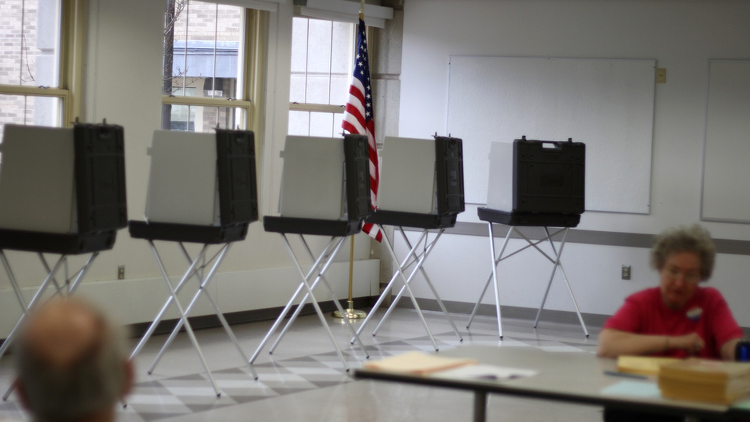Even before the polls opened in today's coast-to-coast primaries, the  Associated Press has already declared Clinton to be the Democratic nominee . It's based on a poll of super delegates who won't vote until the convention. Will the prediction affect today's turnout? What should the media do?     Photo:  Sage Ross
