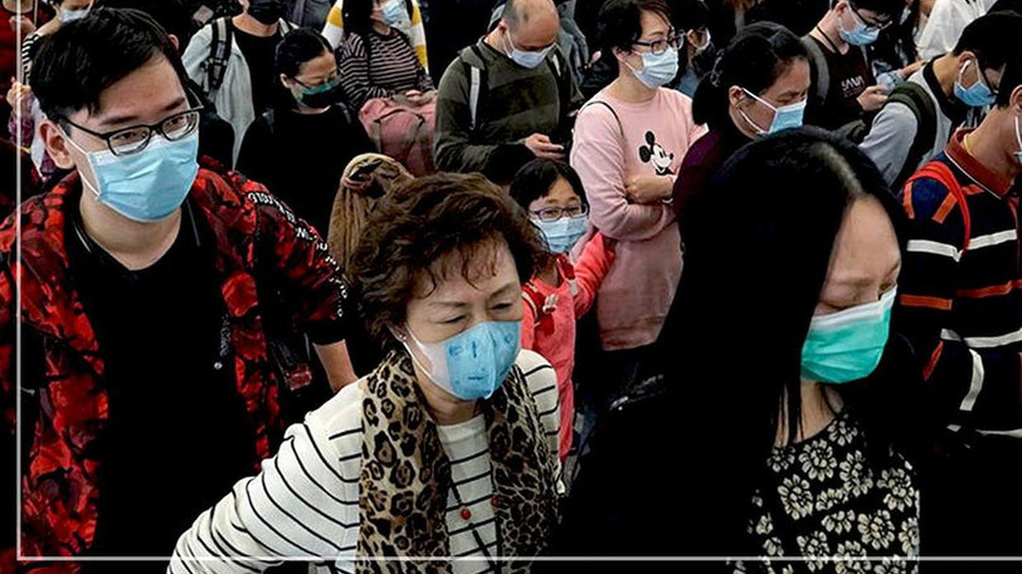 Facemasks are in short supply in Asia.
