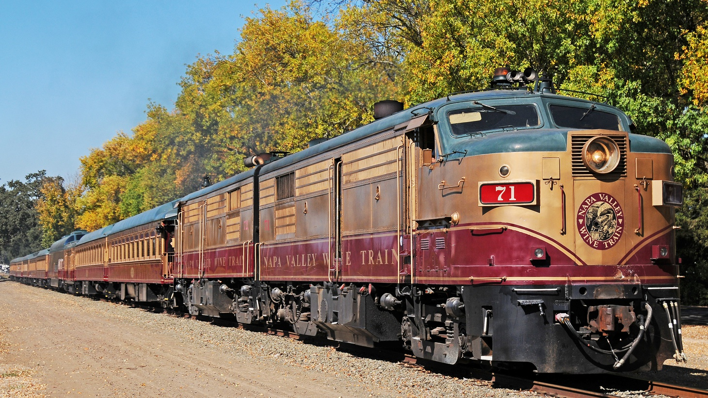 California's Napa Valley is now being called one of those places where no black people are allowed to have fun. The Napa Valley Wine Train takes passengers 18 miles through California's wine Country, from Napa to St. Helena -- with wine tasting provided along the way.
