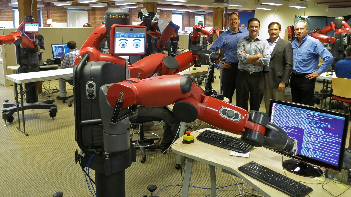 Robots are here to stay: in factories and homes — from real-world battlefields to popular culture. We talk about robotics and the increased interaction of robots with human beings.