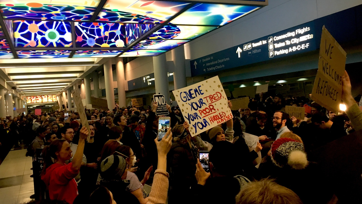 The Trump Administration's travel ban is back in effect. Guest host Leon Krauze explores what's behind this modified version. What will be its future in the courts? And how will it affect America's influence in the world?