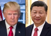 Trump talks tough on North Korea ahead of talks with Xi