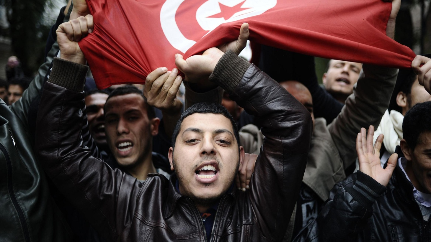 "The rulers of the Arab world are watching and so are their subjects, as an unprecedented revolution plays itself out in Tunisia. We get the latest. Also, ""Baby Doc"" Duvalier is taken into custody in Haiti, and the battle over health reform begins again in the Congress."