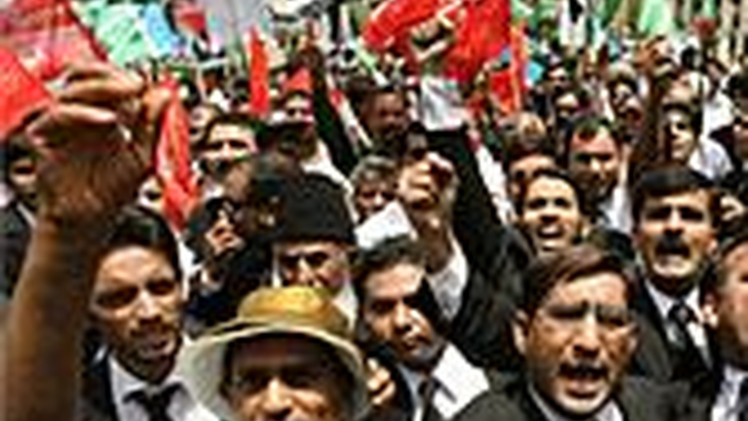 Protests against Pakistan's President and chief of the Army Pervez Musharaf turned bloody last week but thousands turned out again today to protest. The US calls Musharraf an ally in the war on terror and yet he has reduced his efforts. On Reporters Notebook, ninety-million American war records have gone online.