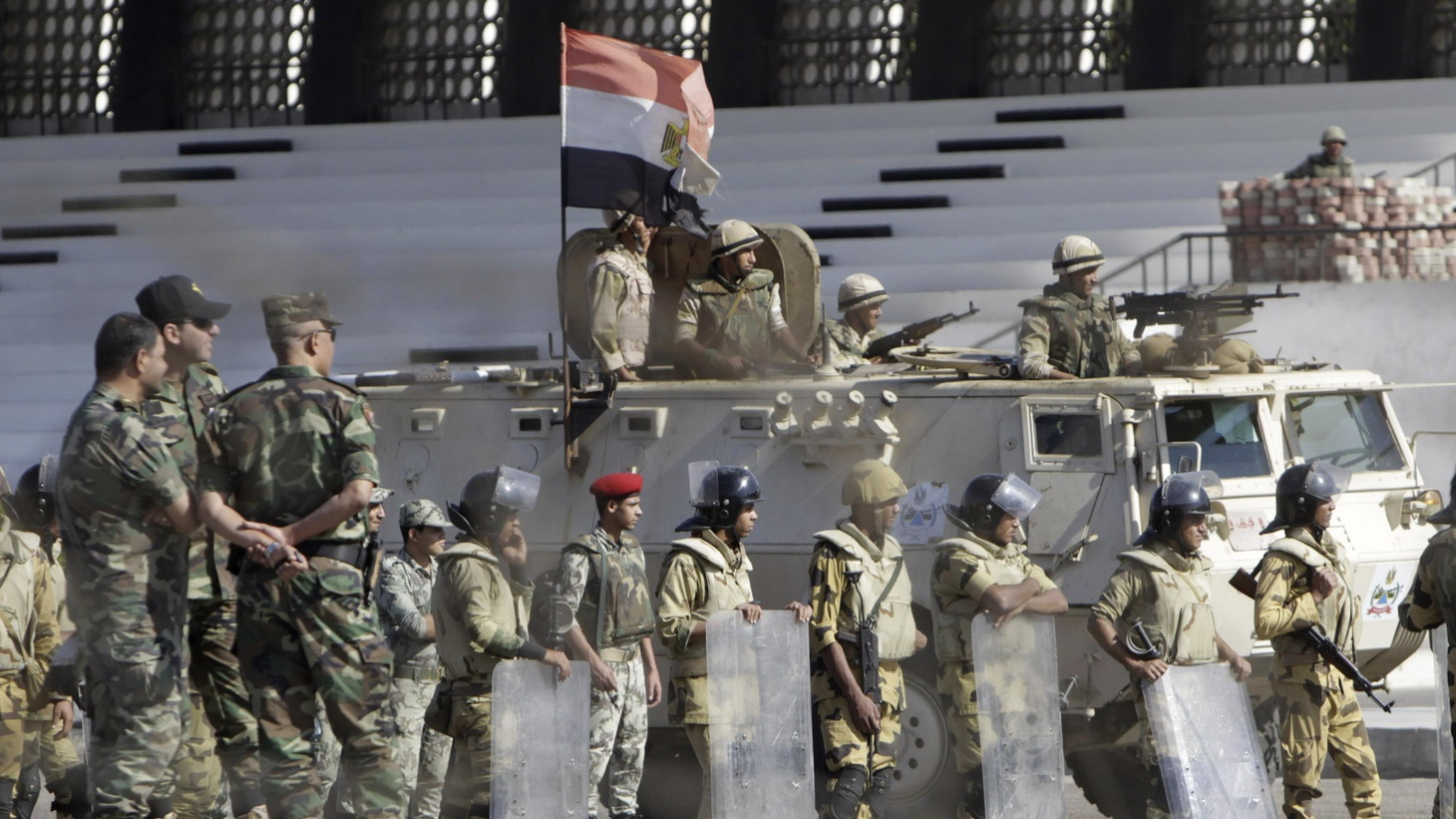"Egypt says relations with the U.S. are in ""turmoil"" after the cancellation of some American military assistance. Which country needs the other the most?"