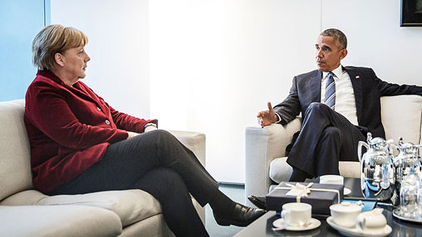 President Obama's trip to Europe this week is not the anticipated victory lap but a mission to explain Donald Trump's unexpected election and reaffirm the values underlying the Atlantic Alliance. We hear about his hand-off of leadership to Germany's Angela Merkel.