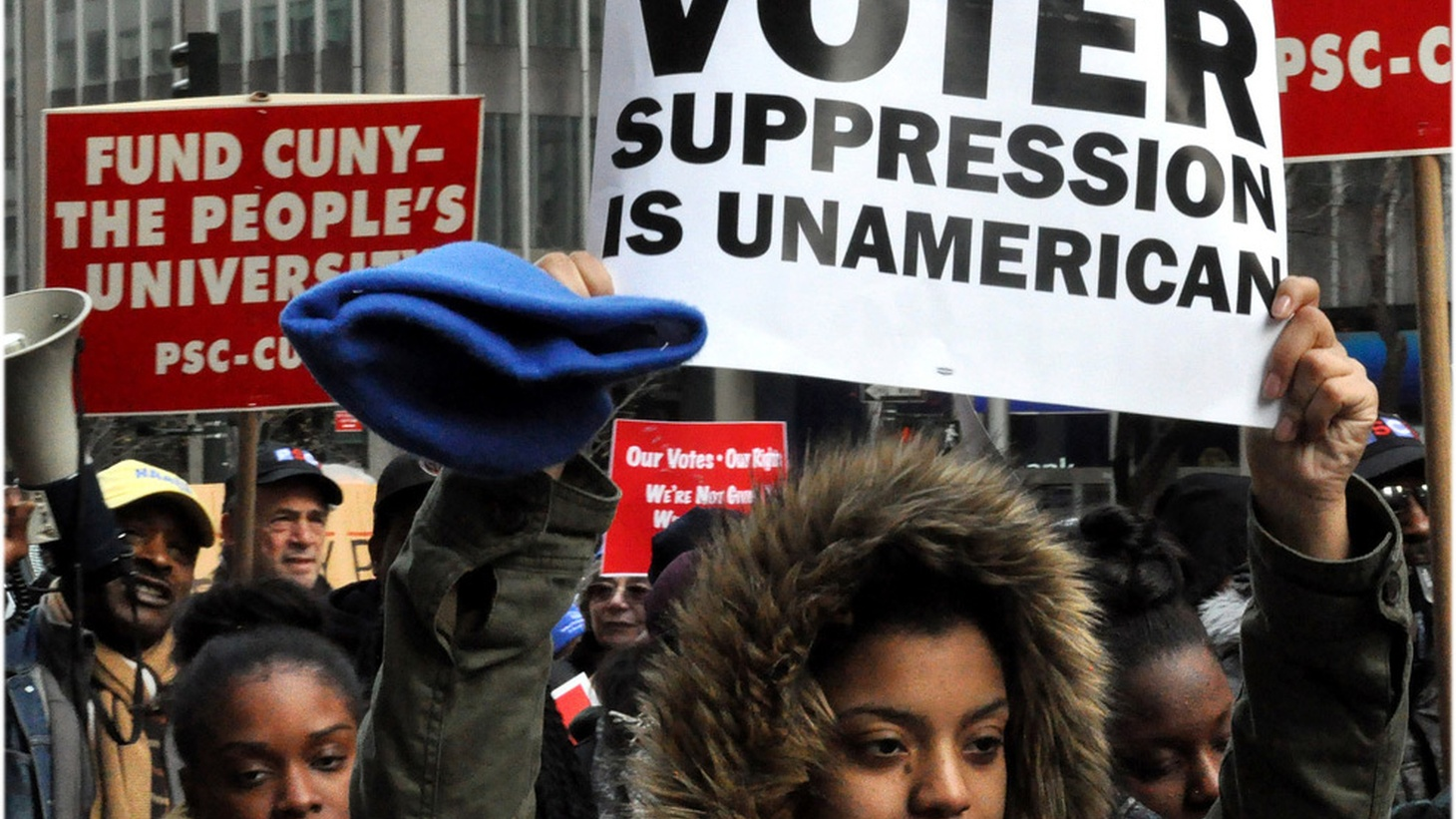 Voting may be the lynchpin of democracy, but it's not a right guaranteed by the Constitution. The Founding Fathers set the stage for the dirty tricks and legal discrimination we see today.