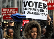Voter Suppression and November's Elections