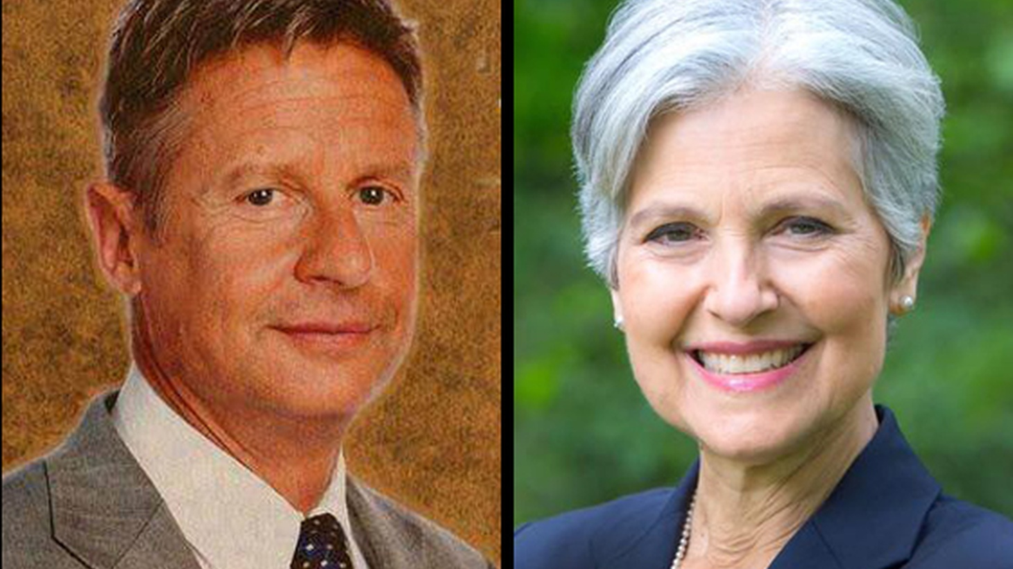 "Libertarian Gary Johnson and the Green Party's Jill Stein are this year's ""third-party"" challengers to Clinton and Trump — the two most unpopular presidential candidates in recent history. There's almost no chance either one can be more than a ""spoiler,"" but we look at what they offer to millions of unhappy voters."