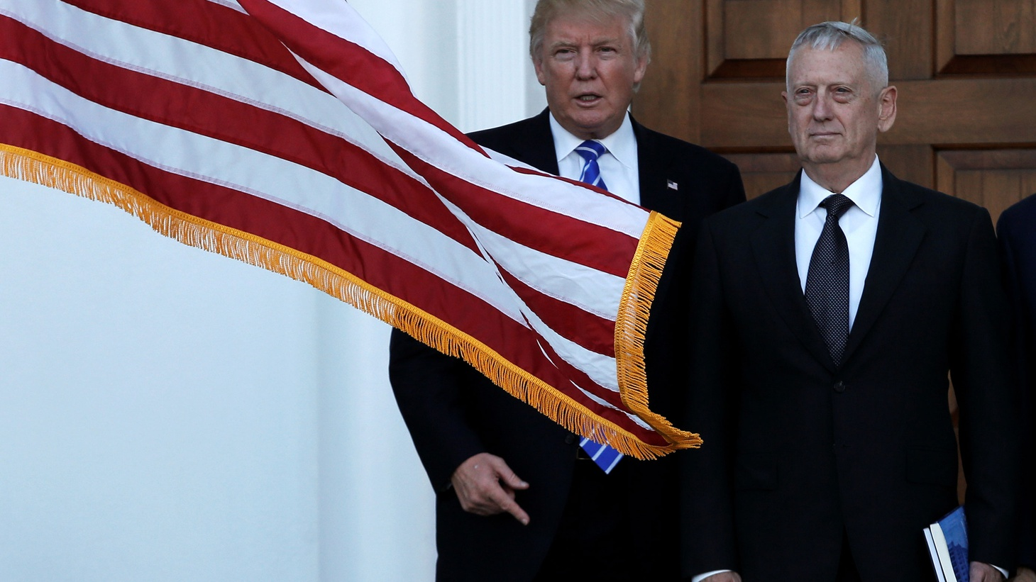 """At a """"Thank You"""" rally last night in Cincinnati, Donald Trump got a campaign-style reception and made news by announcing a major cabinet nominee, """" We are going to appoint Mad Dog Mattis as our Secretary of Defense ."""" The retired general is loved by fellow Marines and he has respect on Capitol Hill -- where he'll need it."""