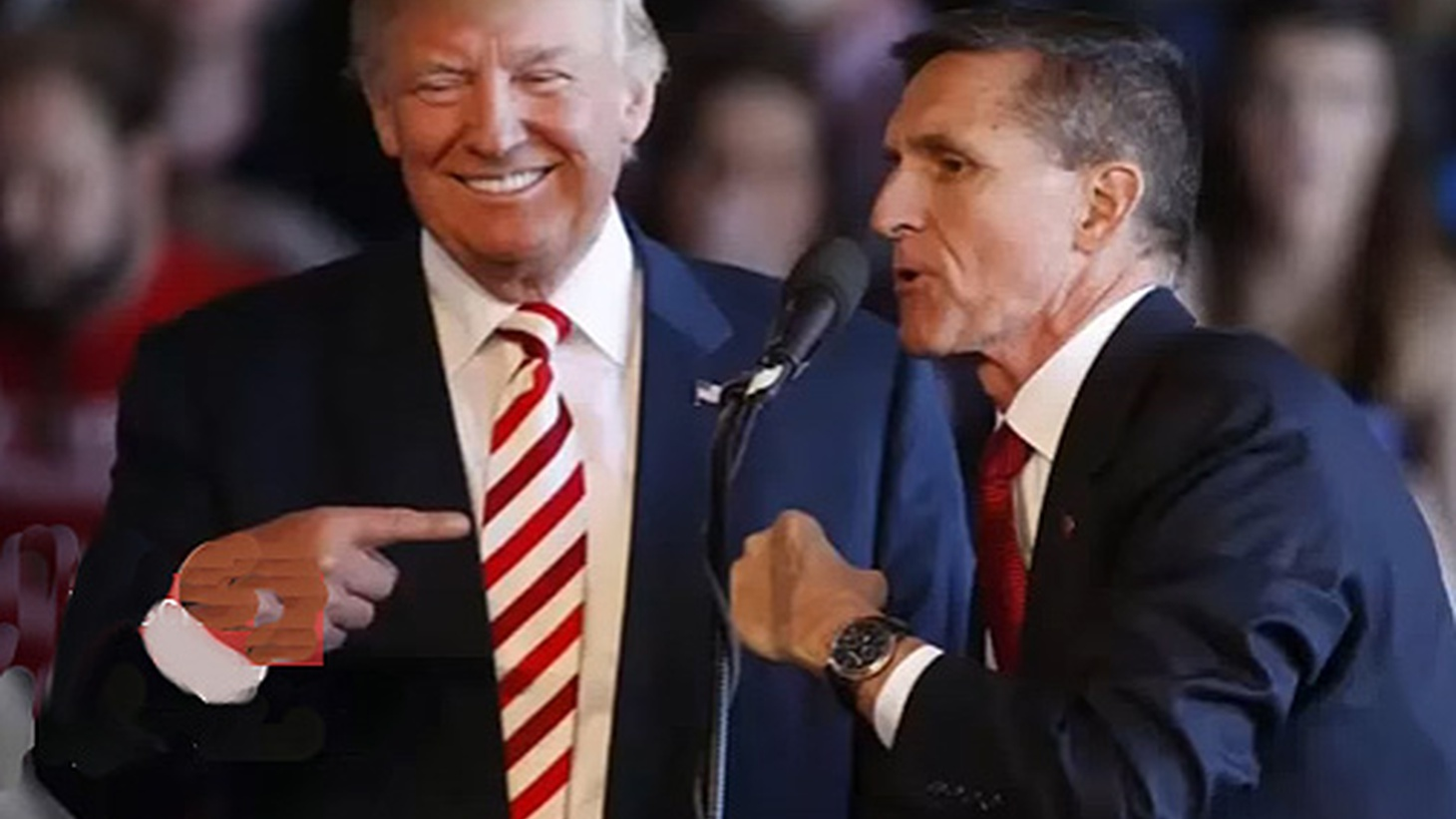 "Last night, it was reported that  Trump aides were in constant contact  with senior Russian officials during last year's campaign. That's what anonymous intelligence officials are telling reporters. Yesterday,  President Trump reportedly fired Michael Flynn  as National Security Advisor because of ""an erosion of trust."""