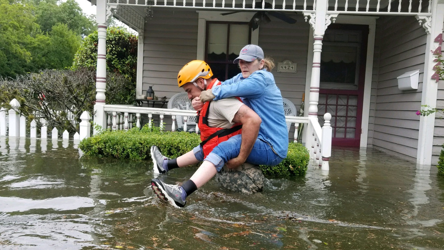 Tens of thousands in Houston are living through a disaster all too much like New Orleans went through when it was struck by Katrina just 12 years ago. We talk about the struggle for recovery from one disaster while making plans for the next one.