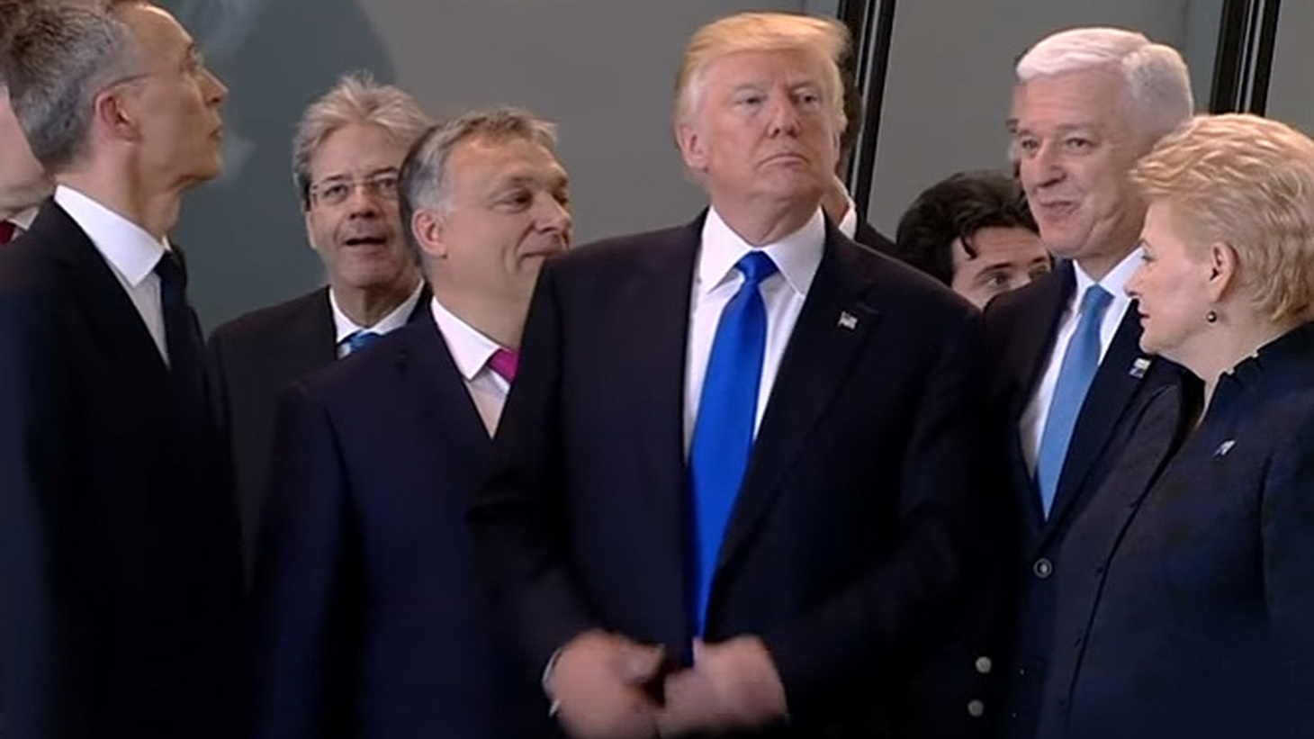 """Is President Trump taking his """"America First"""" agenda to extremes, withdrawing the country from the international stage on trade and climate change, distancing America from its traditional allies across the Atlantic and even threatening to physically isolate the country through the building of a wall along its southern border? León Krauzeguest hosts."""