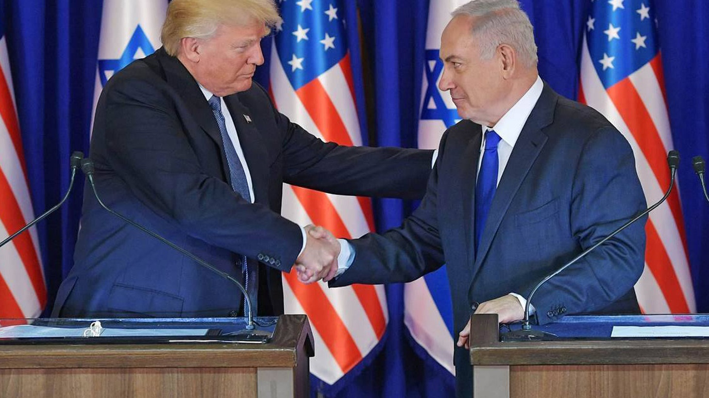 """On his first foreign tour, President Trump has promised """"peace"""" between Israel and the Palestinians. Are there any details for re-starting talks that have been stalled for the past three years?"""