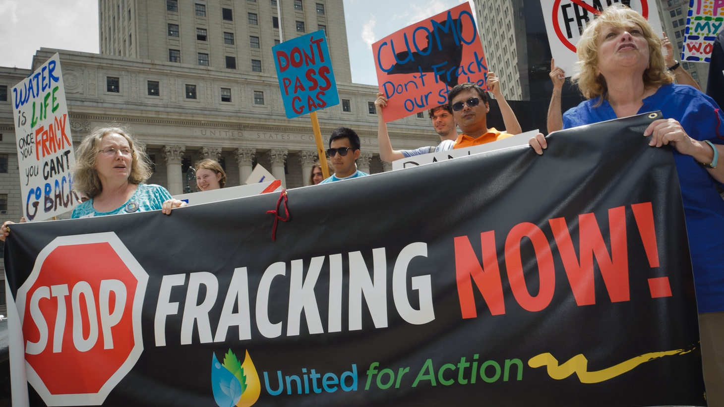 """""""Fracking"""" is used to extract underground oil and gas. The more it's used, the more controversial it becomes. A new EPA report is being cheered by both environmentalists and the energy industry — but the battle is far from over."""