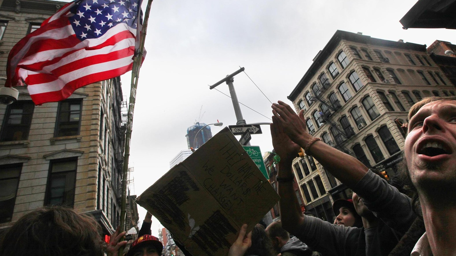 Demonstrators were evicted this morning from New York's Zuccotti Park. We hear what's happening in other places. Does the movement have a chance to make political change?