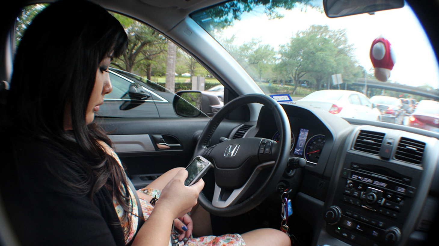 "If you drive with your cell phone turned on, consider this: one passionate critic of ""distracted driving"" killed two people while he was texting. Drivers tell pollsters they know that's dangerous, but many admit they do it anyway. Now, neuroscientists say they don't have much choice."