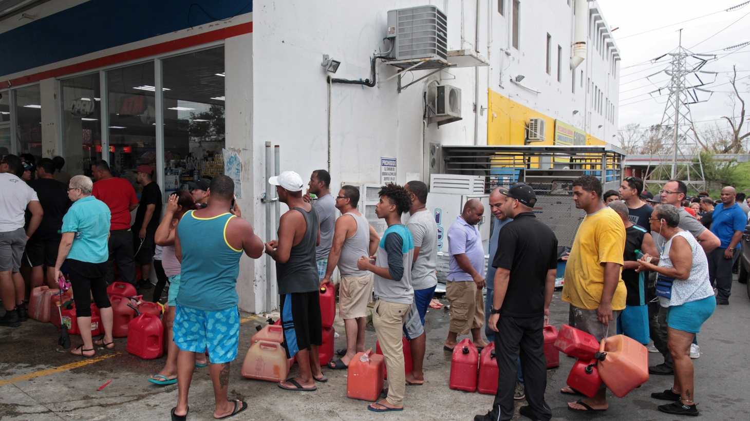 Hurricane Maria strafed Puerto Rico with winds up to 150 miles an hour for ten straight hours. We hear about the humanitarian consequences, the property damage and relief efforts… in slow motion.