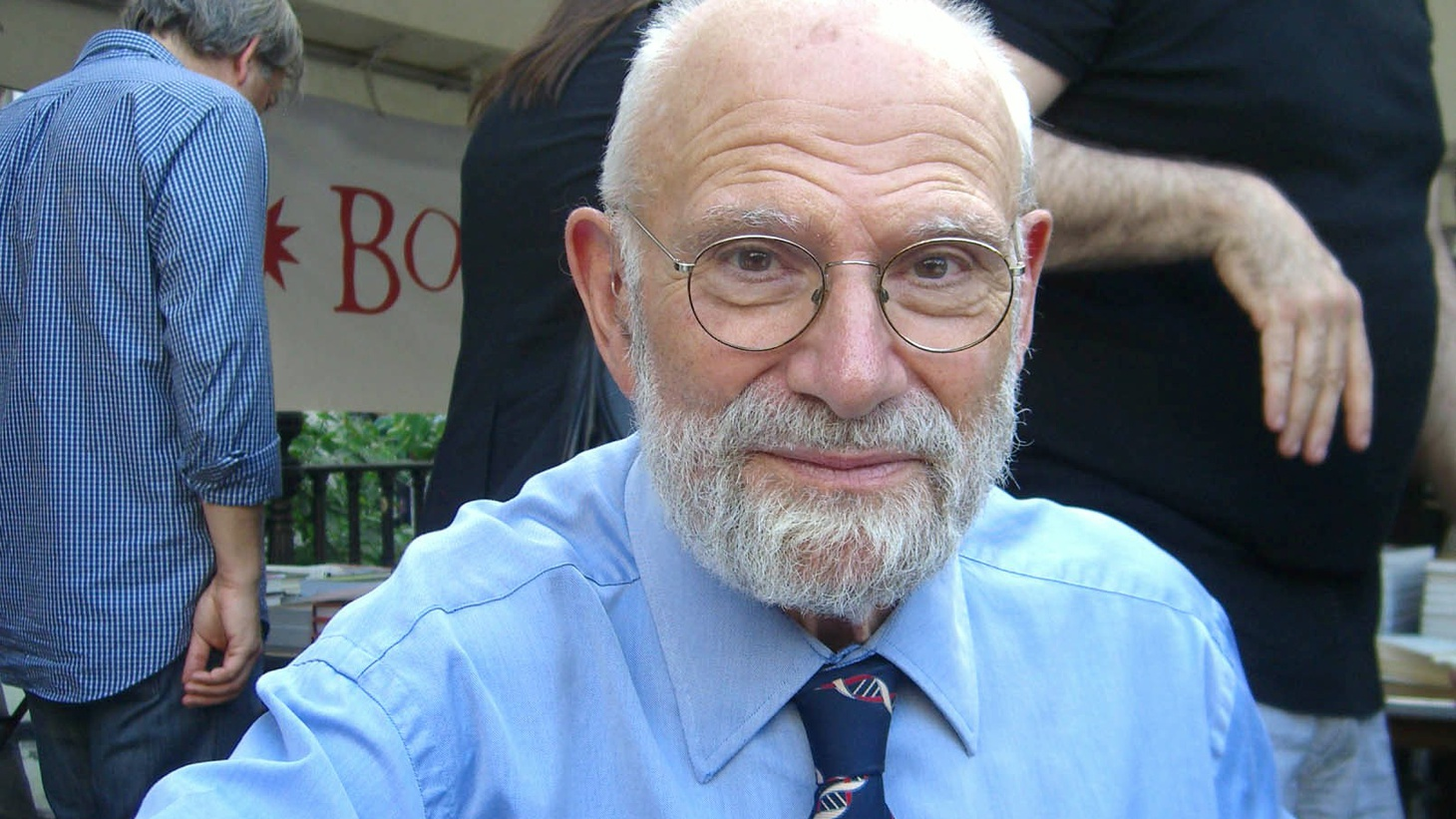 Neurologist and writer Oliver Sacks at the 2009 Brooklyn Book Festival Photo by  Luigi Novi  