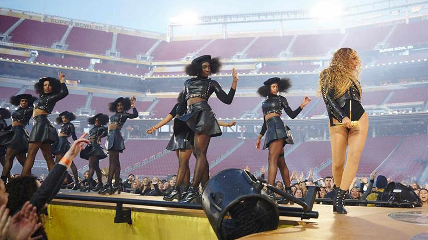 Sunday's Super Bowl game was a defensive contest that failed to leave much of an impression. Beyoncé's Super Bowl performance is another matter.         Danielle Belton is Associate Editor of  The Root , an online magazine that covers African-American culture.