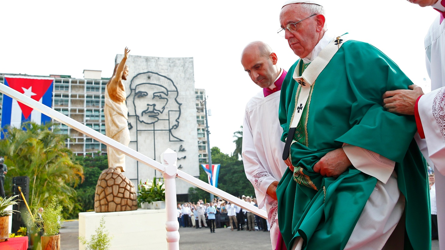 """Pope Francis helped renew diplomatic relations between the US and Cuba. Now he's visiting both countries, with a lot to say about their different ideologies, economies and treatment of those Jesus called """"the least among us."""""""